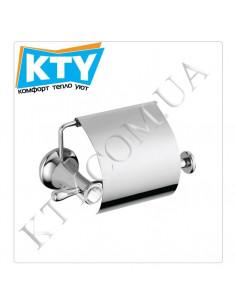 Держатель для туалетной бумаги Kugu Bavaria 311C (с крышкой, латунь, хром)