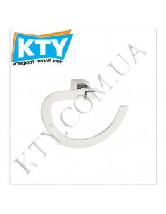 Полотенцедержатель Kugu С5 504 (кольцо, латунь, хром)