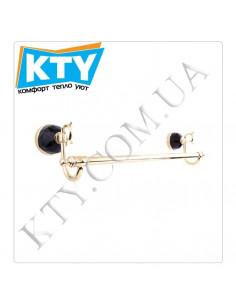 Полотенцедержатель Kugu Diamond 1101G (латунь, золото)