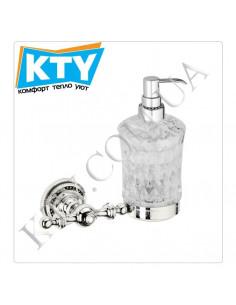 Дозатор для жидкого мыла Kugu Eldorado 814C (навесной, латунь, хром)