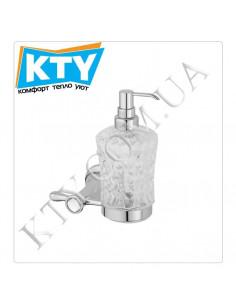 Дозатор для жидкого мыла Kugu Bavaria 314C (навесной, хром, латунь)