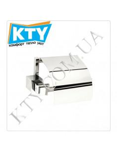 Держатель для туалетной бумаги Kugu С5 511 (с крышкой, латунь, хром)