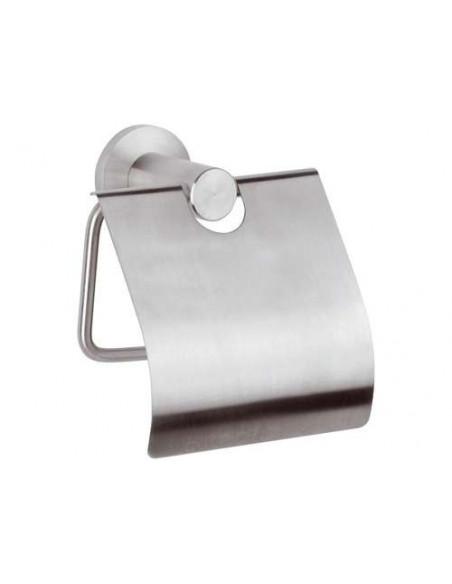 Держатель для туалетной бумаги Remer Minimal MI 60 Inox (с крышкой)