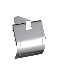 Держатель для туалетной бумаги Remer Square SQ60 (с крышкой)