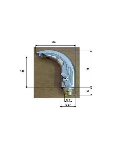 Смеситель сенсорный для умывальника Remer Sensor SE10
