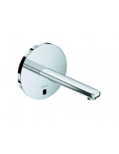 Смеситель сенсорный для умывальника Kludi Zenta 3840305 (настен. монтаж, сеть 240 V или батарейки, 240 мм, круглый отражатель)