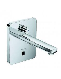 Смеситель сенсорный для умывальника Kludi Zenta 3850005 (настен. монтаж, сеть 240 V или батарейки, 190 мм, квадратный отражатель