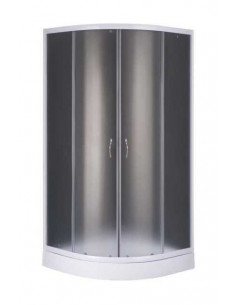 Душевая кабинка BravoGSD-901W (90х195, поддон 13 см, стекло