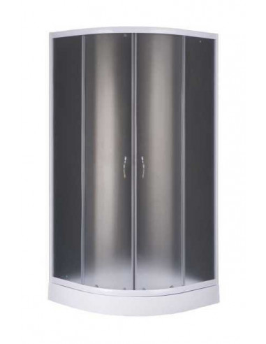 Душевая кабинка BravoGSD-901W (90х195, поддон 13 см, стекло, комплект)
