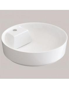 Умывальник Idevit Slim Round 6001-1485  (48х48 см с отверстием)