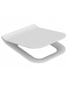 Сиденье для унитаза Idevit Halley Soft Close Slim 53-02-06-009 (с крышкой,прямоугольное,Duroplast,Soft Close)