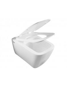 Чаша подвесного унитаза IDEVIT Halley с сиденьем Ultra Slim Soft Close SETK3204-2616-001-1-6000 (подвесной,сиденье Duroplast)
