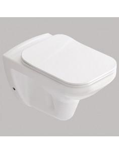 Чаша подвесного унитаза Idevit Nova SET3504-0605-001-1-6100 (подвесной,Slim Soft Close,сиденье Duroplast)