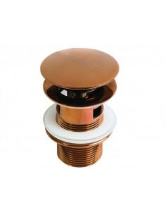 Клапан сливной Newarc 740777 (push-open, для умывальников, с отверстием для перелива)