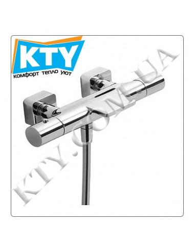Смеситель для ванны Tres Loft-Tres 200.174.09 (термостат, комплект, хром)