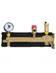 Группа безопасности котла Afriso GAK 50 кВт с соединением для расширительного бака (до 50 л)