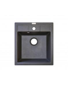 Мойка квадратная Adamant Brick (врезная,серый)