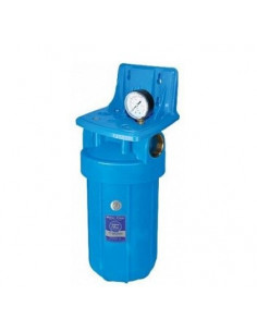 Фильтр-колба Aquafilter FH10B1-B-WB (1, непрозрачный, ВВ10, с манометром)