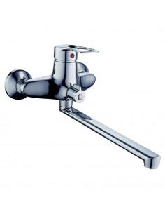 Смеситель для ванны Tau SM-2C244C (350 мм, дивертор встроенный картриджный)