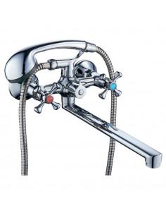 Смеситель для ванны Tau VN-2C260C (350 мм, дивертор встроенный картриджный)