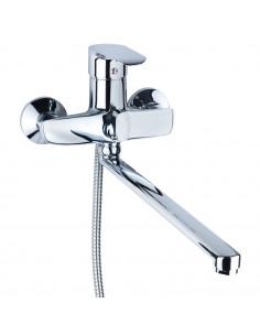 Смеситель для ванны Aquatica KN-2C228C (350 мм, дивертор встроенный картриджный)