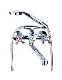 Смеситель для ванны Aquatica PL-2C255C (350 мм, дивертор встроенный картриджный)