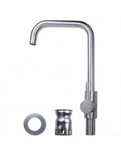 Смеситель для кухни Aquatica KT-4B270P (35 мм, гайка, нержавейка)