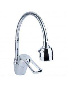Смеситель для кухни Aquatica ML-4B644C (40 мм, гайка, гусак гофрированный)