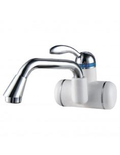 Смеситель для умывальника с проточным водонагревателем Aquatica LZ-6A211W (3.0кВт, 0,4-5бар, настенный)