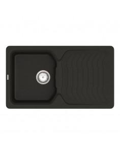 Мойка прямоугольная гранитная Vankor Sigma SMP 02.85 Black