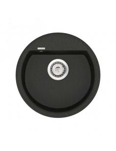 Мойка круглая гранитная Vankor Easy EMR 01.45 Black