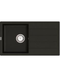 Мойка прямоугольная гранитная Vankor Easy EMP 02.76 Black