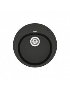 Мойка круглая гранитная Vankor Sity SMR 01.50 Black