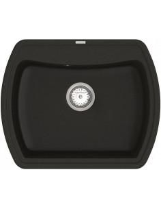 Мойка прямоугольная гранитная Vankor Norton NMP 01.63 Black
