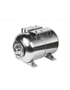 Гидроаккумулятор Euroaqua 80 (горизонтальный, нержавеющая сталь)