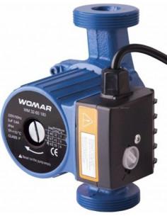 Циркуляционный насос Womar 32/60/180, гайки, кабель с вилкой