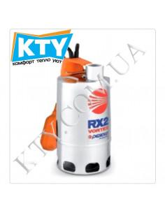 Дренажный насос Pedrollo RX-VORTEX (для загрязненной воды, трехфазный, нержавеющая сталь, поплавковый выключатель)