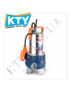Дренажный насос Pedrollo ZXm (для сильно загрязненной воды, нержавеющая сталь, поплавковый выключатель)