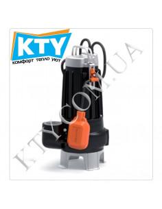 Фекальный насос Pedrollo MC (двухканальный, с режущим механизмом, трехфазный, поплавковый выключатель)