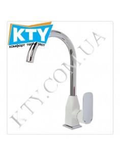 Смеситель для кухни Venezia Kapadokya 5010902-07 (белый)