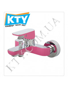 Смеситель для ванны Venezia Kapadokya 5010901-09 (розовый)
