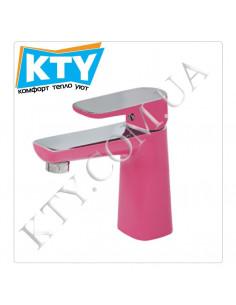 Смеситель для умывальника Venezia Kapadokya 5010904-09 (розовый)
