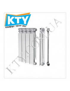 Радиатор биметаллический Mirado 96/500 (4 секции)