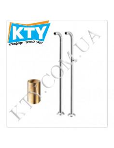 Колонны для ванны Tres 1.61.194 (напольные, для установки смесителя, хром)