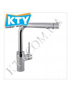 Смеситель для кухни Tres Kitchen 1.62.456 (с выходом для фильтрованной воды, без фильра, хром)